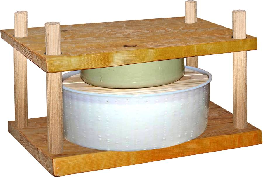 how to make cheese cheese press
