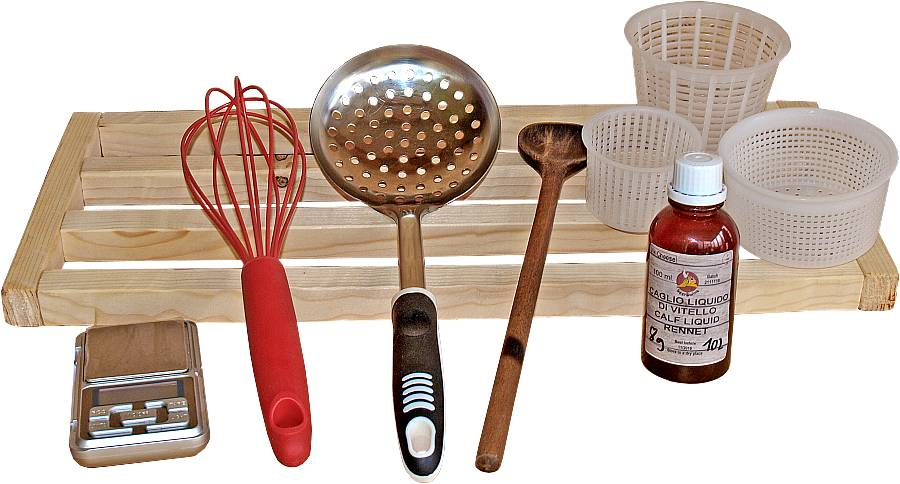 tools how to make cheese