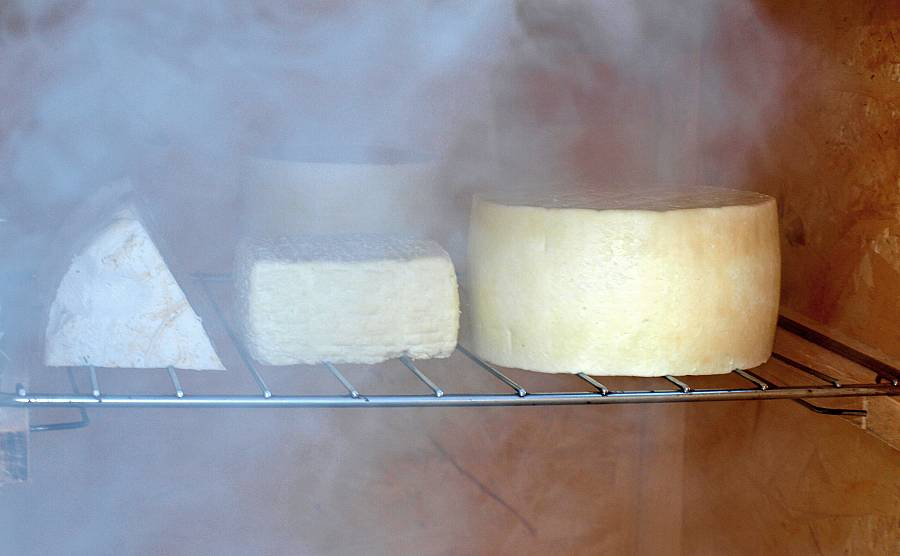 how to smoke cheese instruction